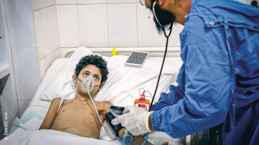 Yemen: More than 90,000 war wounded treated