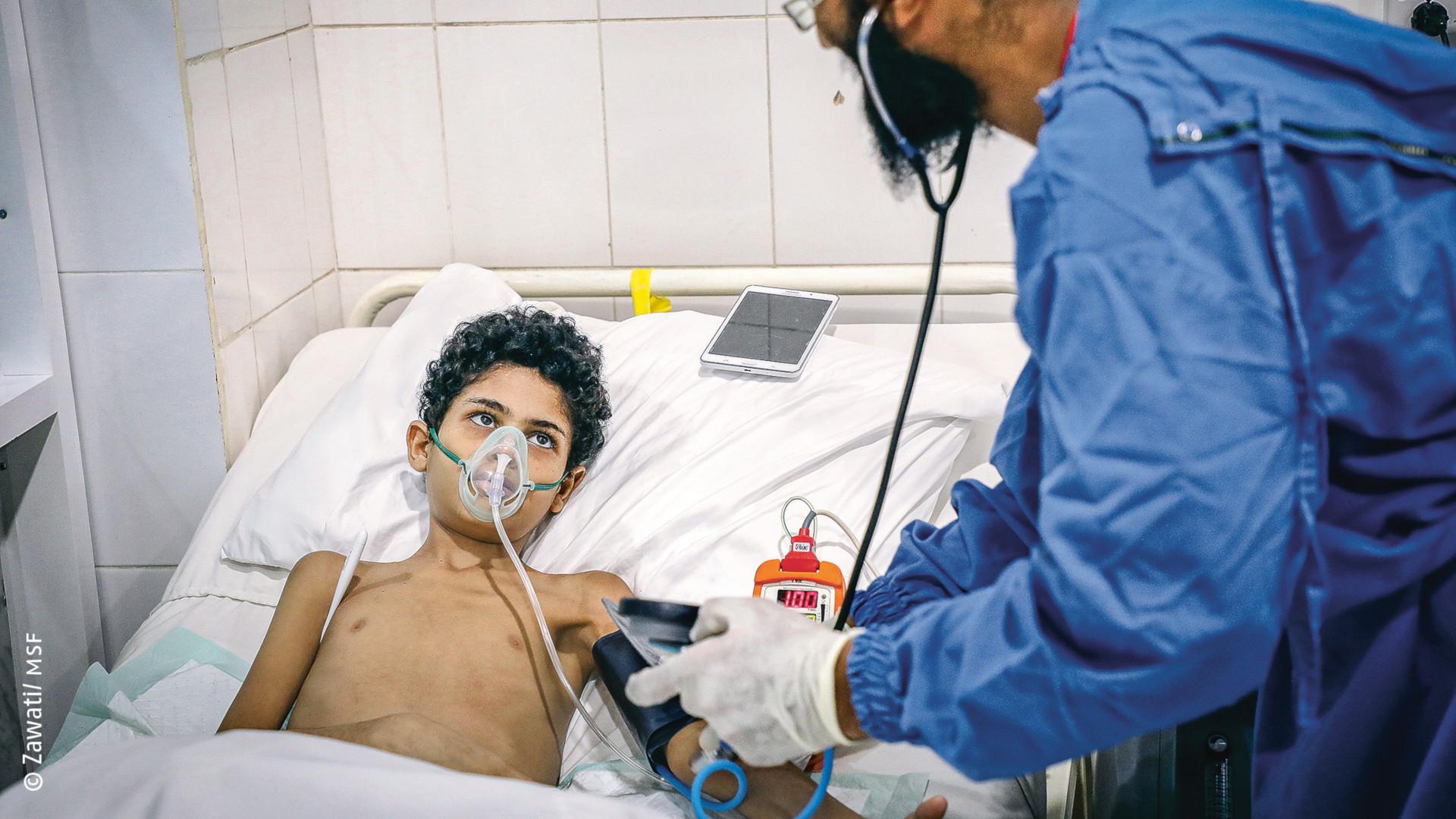 Yemen: Más de 90.000 heridos de guerra atendidos