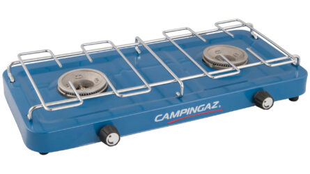 Campingaz Base Camp stove with two burners - without lid