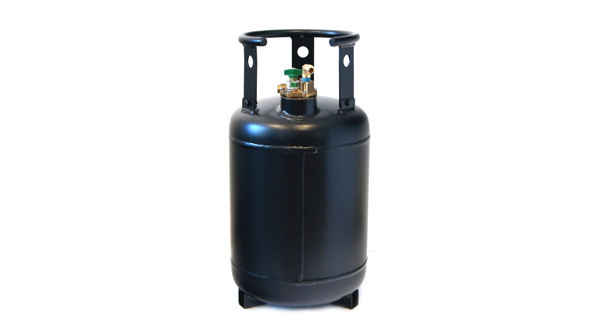 Gas cylinder 30 litres with 80% multivalve