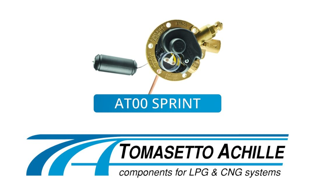 Now available: Tomasetto AT00 SPRINT Multivalves