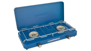 Campingaz Base Camp Two Burner Stove - With Lid