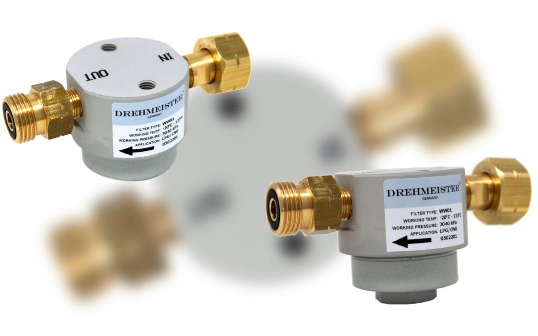 DREHMEISTER Gas-Cylinder Filter