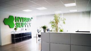 Reception of the HybridSupply office at Stellmacherstraße 9, DE-23556 Lübeck