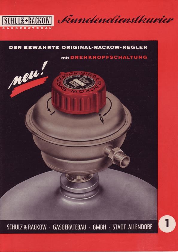 SRG Rotarex publicité de 1961