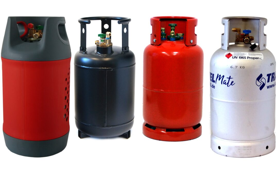 Refillable Gas Bottles