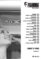 Installation and Instruction Manual Rooflight VENT F PRO