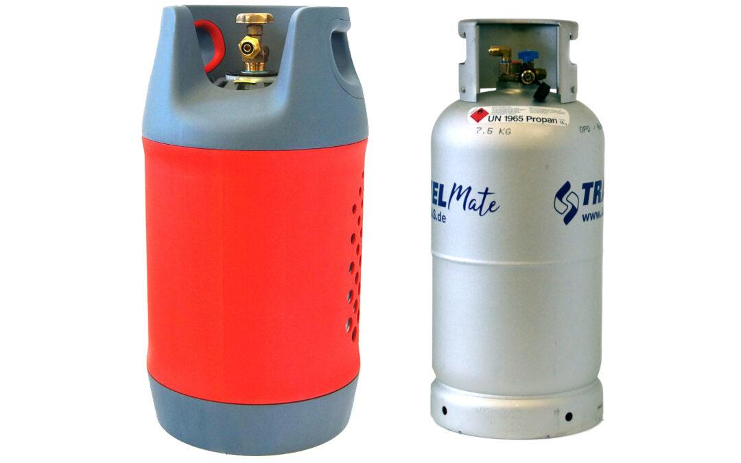 Composite & Aluminium Refillable Gas Bottles