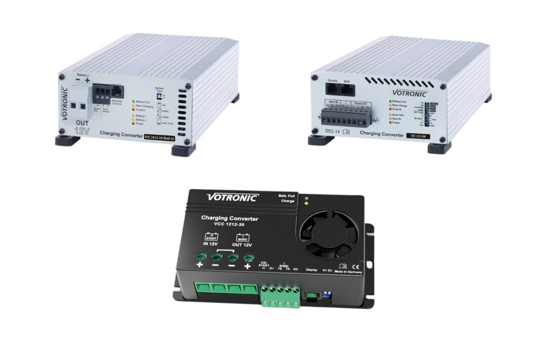 Charging converters, B2B chargers from Votronic
